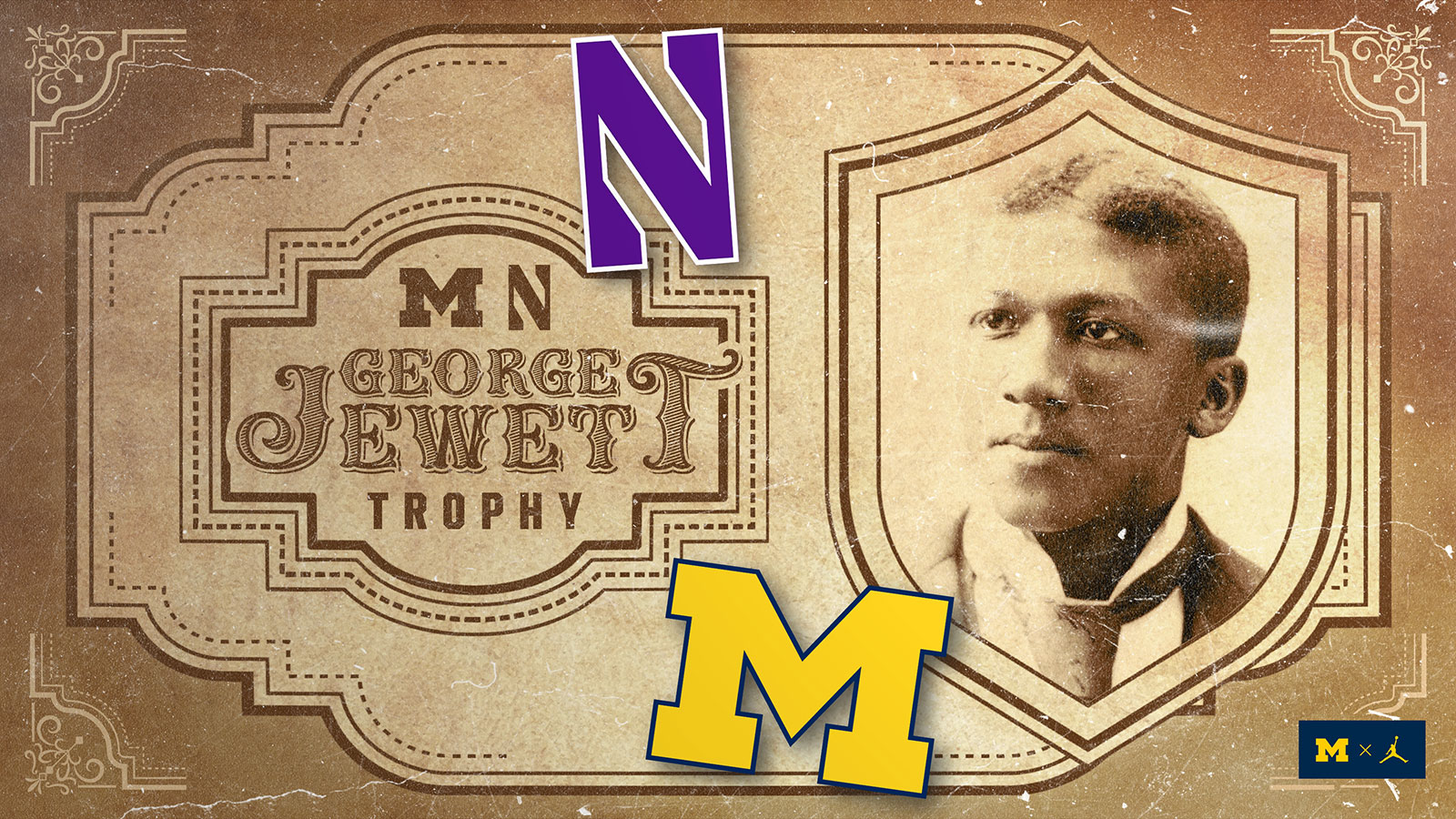 Michigan and Northwestern Establish George Jewett Trophy